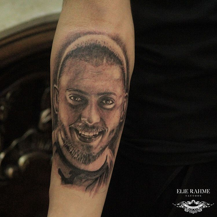 Elie Rahme Tattoos: A Tribute to Ramy Hajj Boutros