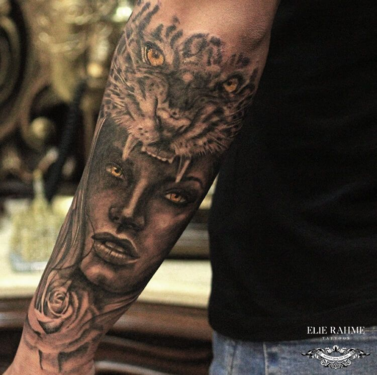 Elie Rahme Tattoos: Filled With Beauty And Rage