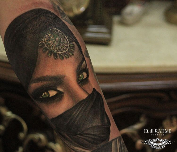 Elie Rahme Tattoos: In Love With The Green