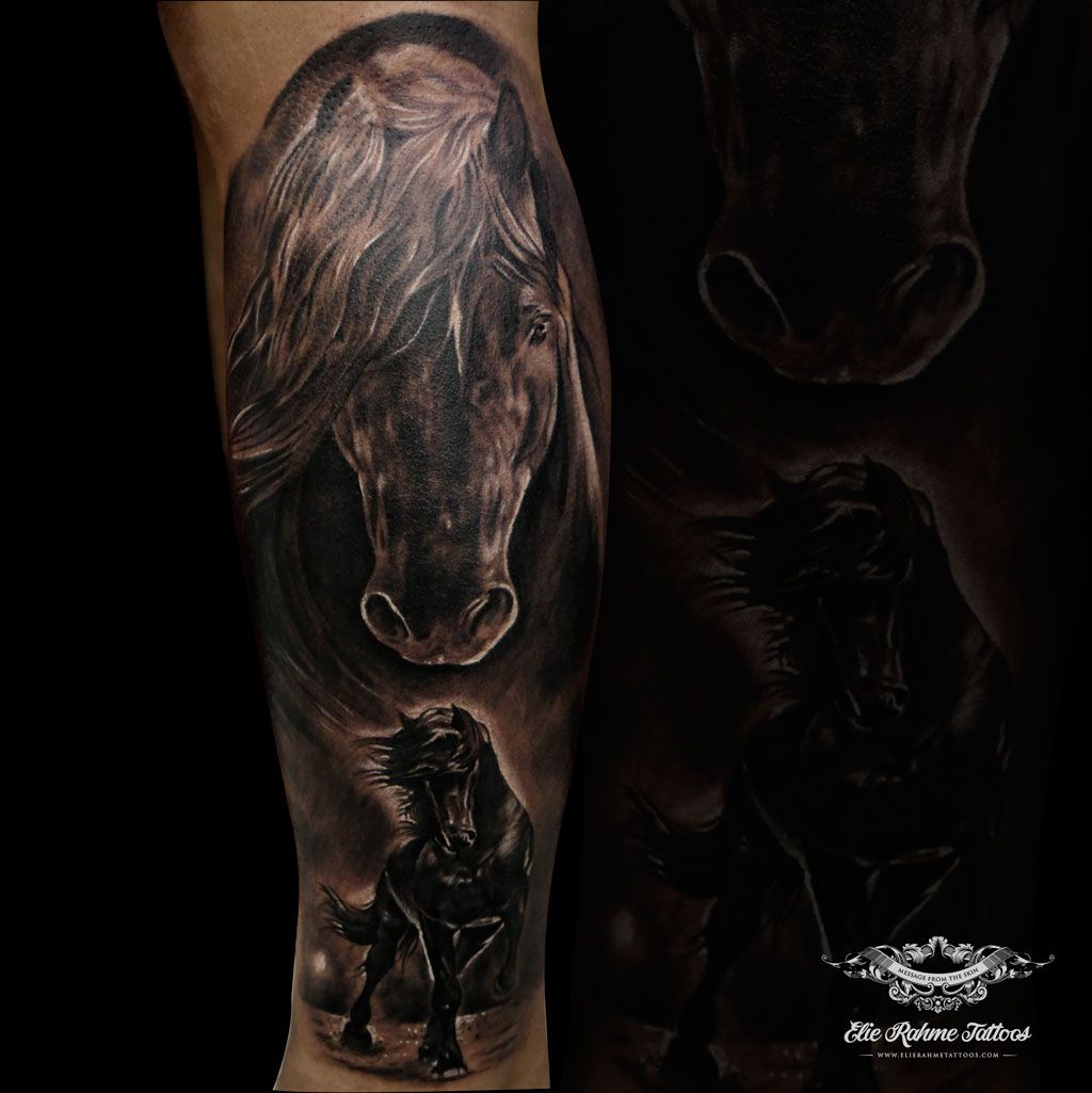 Elie Rahme Tattoos: